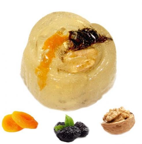 Мармелад желейный: Сказка (грецкий орех, курага,чернослив)