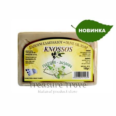 Оливковое мыло с экстрактом жасмина