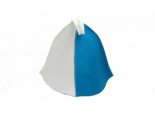 Шапка для сауны двухцветный (светл/цвета в ассортименте)