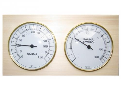 Термогигрометр биметаллический