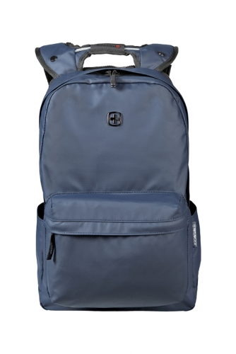 Рюкзак Wenger 14'', с водоотталкивающим покрытием, синий, 28x22x41 см, 18 л