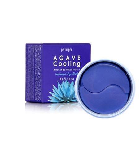 Охлаждающие гидрогелевые патчи для глаз с экстрактом агавы Agave Cooling Hydrogel Eye Patch 60шт