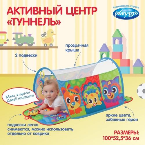 Playgro Активный центр «Туннель» 0186992