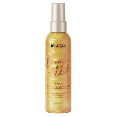 Indola Спрей для придания золотого блеска Blond Addict Gold
