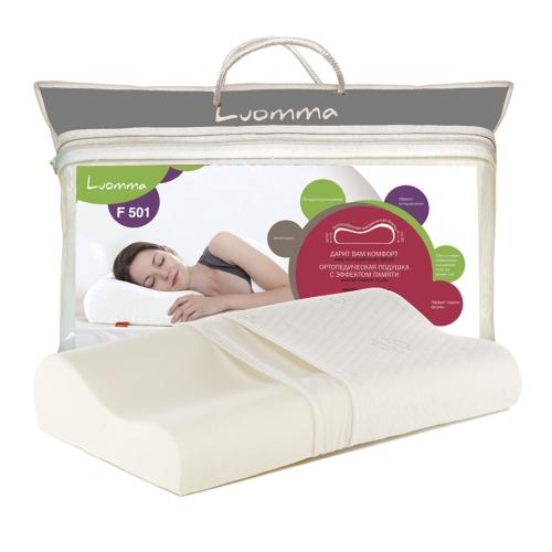Подушка ортопедическая с эффектом памяти Luomma LumF-501