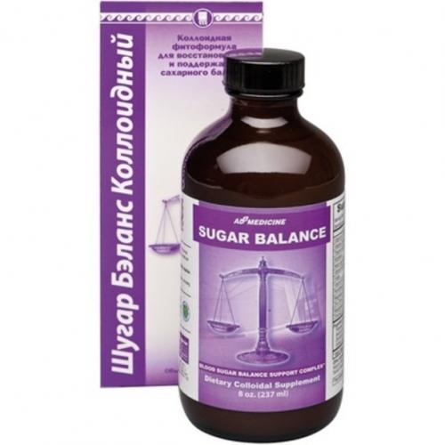 Коллоидная фитоформула для восстановления и поддержания сахарного баланса Sugar Balance