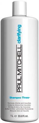 PAUL MITCHELL. CLEANS. Shampoo THREE - Шампунь очищающий для всех типов волос, 1000 мл