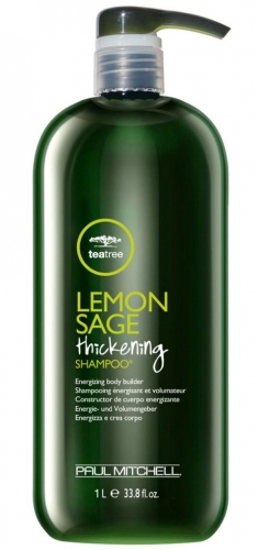 PAUL MITCHELL. LEMON SAGE Thickening Shampoo - Шампунь д/объема д/норм. и тонких волос, 1000 мл