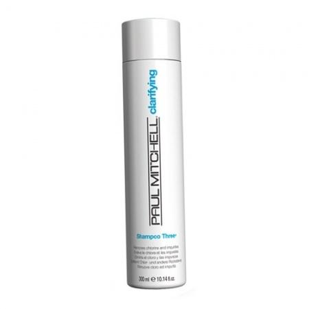PAUL MITCHELL. CLEANS. Shampoo THREE - Шампунь очищающий для всех типов волос, 300 мл