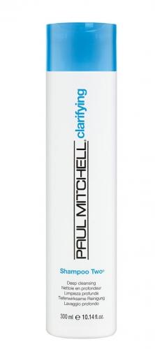 PAUL MITCHELL. CLEANS. Shampoo Two - Шампунь очищающий д/норм. и жирных волос, 300 мл