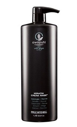 PAUL MITCHELL. AWAPUHI. Keratin Cream Rinse - Кератиновый крем-ополаскив. д/волос, 1000 мл