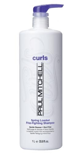 PAUL MITCHELL. CURL. Spring Loaded Frizz-Fighting Shampoo - Шампунь для кудрявых волос, 1000 мл
