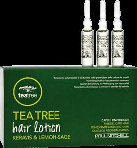 PAUL MITCHELL. Tea Tree Hair Lotion  - Регенерир. ампулы пр/выпад. волос д/всех типов волос, 12*6мл