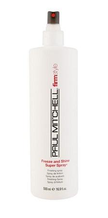 PAUL MITCHELL. STYLE. Freeze and Shine Super Spray - Спрей д/волос сильной фиксации, 500 мл