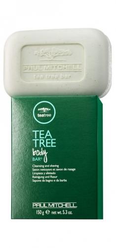 PAUL MITCHELL. TEA TREE Body Bar - Мыло д/лица и тела с маслом чайного дерева, 150 гр