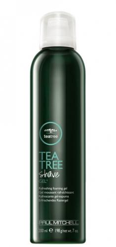 PAUL MITCHELL. TEA TREE Shave Gel - Освежающий гель для бритья, 200 мл