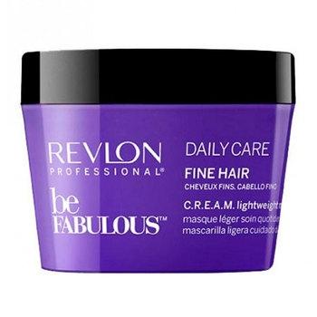 Revlon BE FABULOUS. FINE C.R.E.A.M. MASK Маска для тонких волос 200 мл