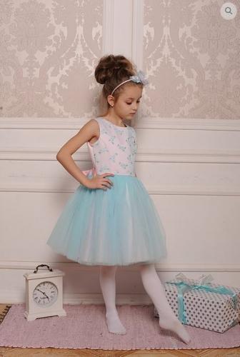 платье для девочки А 18-4 Балерина