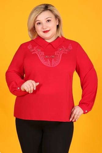 СИМАН 5078 Блуза красный
