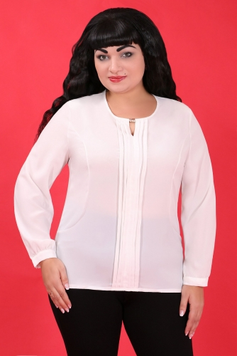 СИМАН 4541 Блуза белый