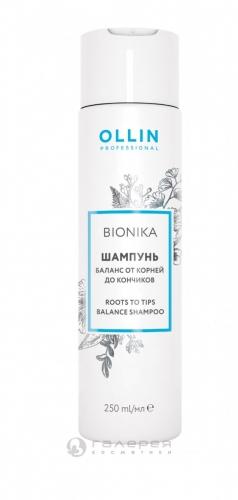 Ollin BIONIKA шампунь баланс