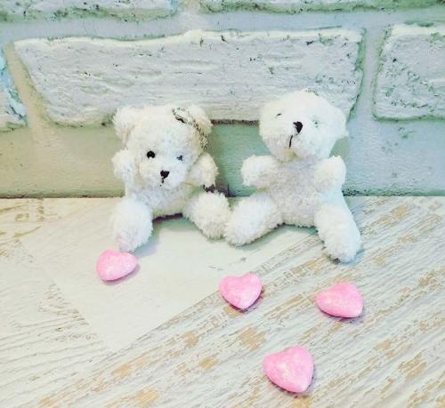 Милые плюшевые медвежата с цепочкой БРЕЛОК
