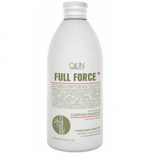 Ollin Full Force шампунь для волос и кожи головы с экстрактом бамбука