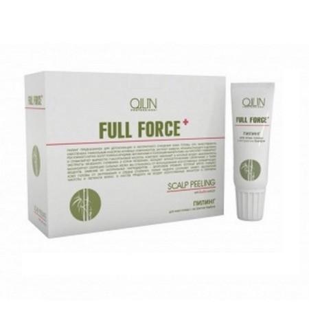 Ollin Full Force пилинг для кожи головы с экстрактом бамбука 10х15мл