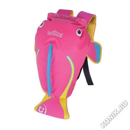 Рюкзак для бассейна и пляжа Коралловая рыбка, розовый Trunki