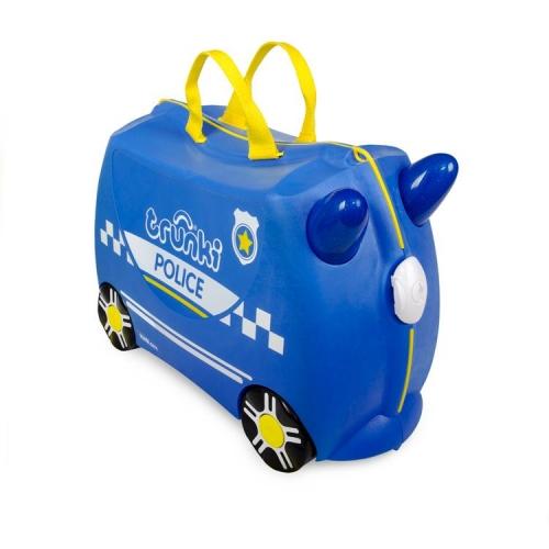 Чемодан на колесиках Полицеская машина Перси