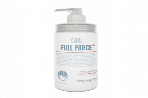 Ollin Full Force тонизирующая маска с экстр. пурпурного женьшеня