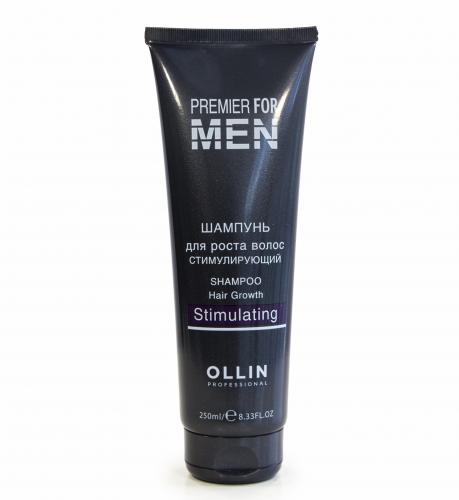 Ollin шампунь для роста волос MEN
