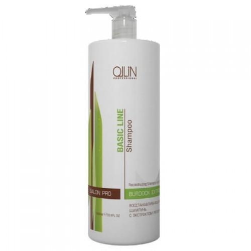 Ollin Basic Line шампунь для частого применения с экстр. листьев камелии