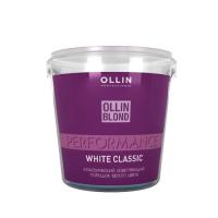 Ollin Осветляющий порошок классический белого цвета