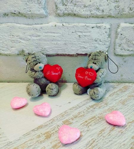 Мишки Тедди с сердечком