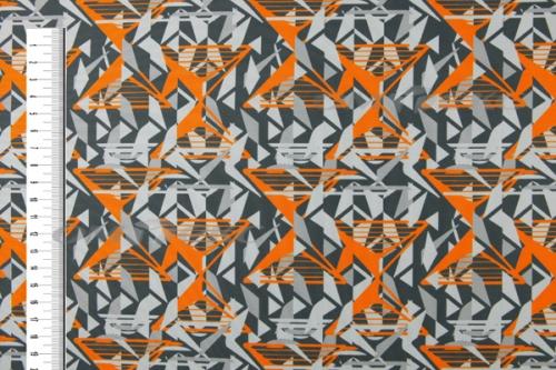 Муфта Мозаика оранжевая, 50 % шерсть.