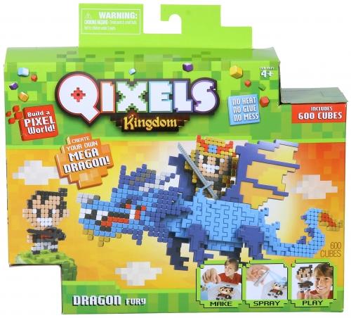 QIXELS Набор для творчества Королевство. Гнев дракона.
