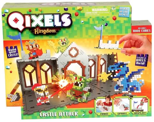 QIXELS Набор для творчества Королевство. Захват замка.