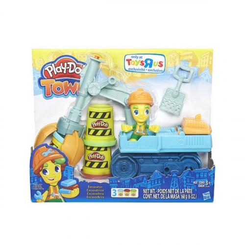 Игрушка Hasbro Play-Doh Экскаватор