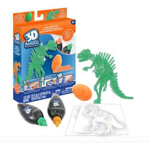 Тематический набор 3D Magic для создания объемных моделей - тиранозавр рекс