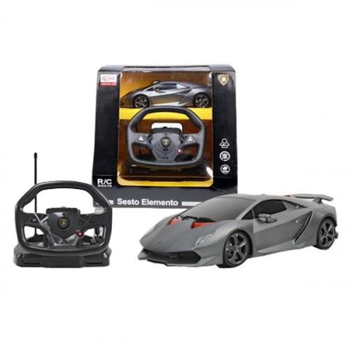 Машина р/у 1:18 Lamborghini Sesto Elemento с пультом управления в виде руля