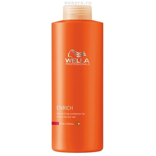 Wella Pr.  Enrich  cond fine Питательный бальзам для нормальных и тонких волос, 1000 мл