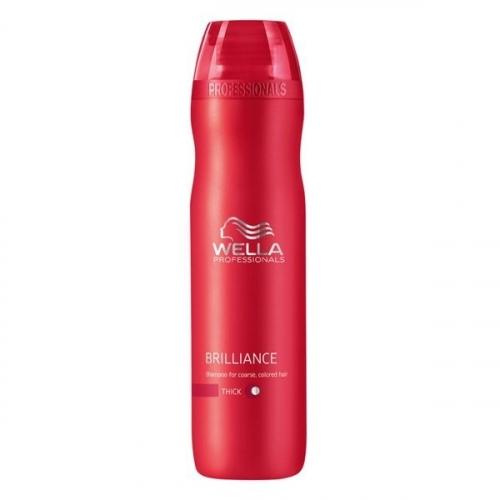 Wella Pr. Brilliance shp coarse Шампунь для окрашенных Жестких волос, 250 мл