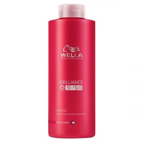 Wella Pr. Brilliance shp coarse Шампунь для окрашенных Жестких волос, 500 мл