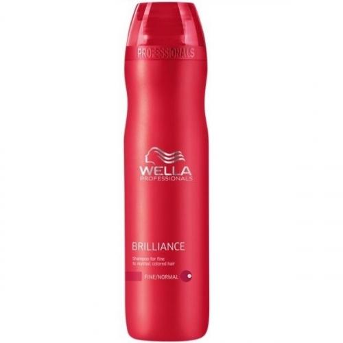 Wella Pr. Brilliance shp fine Шампунь для окрашенных Нормальных и Тонких волос, 250 мл