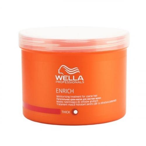 Wella Pr. Enrich mask coarse Крем-маска питательная для жестких волос, 500 мл