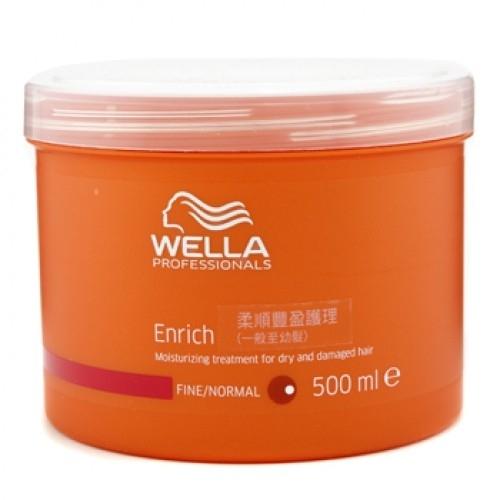 Wella Pr. Enrich mask fine Крем-маска питательная для Нормальных и Тонких волос, 500 мл