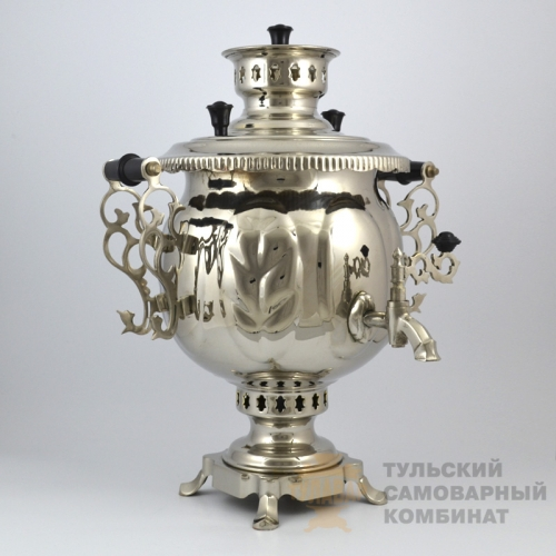 САМОВАР «ШАР» КОМБИНИРОВАННЫЙ