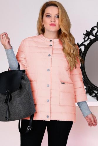 Куртка Lenata 11638-1 или Лената 11638-1 розовые тона