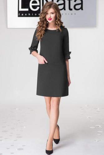 Платье Lenata 11797 / Лената 11797 черный
